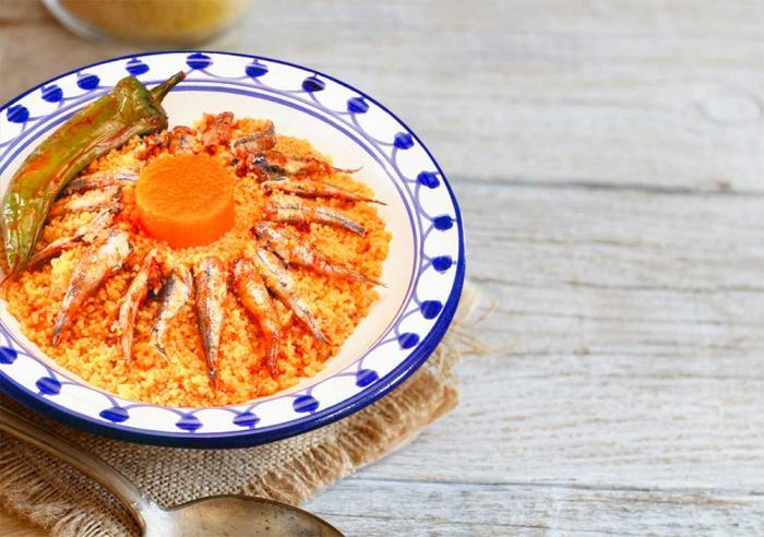 Couscous de monastir au cherkaw