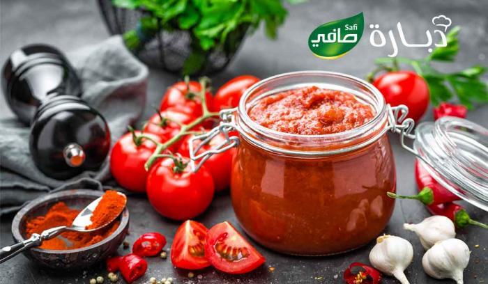 Concentré de tomates fait maison